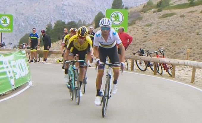 Tour d'Espagne - Valverde : «Quintana reste notre leader»