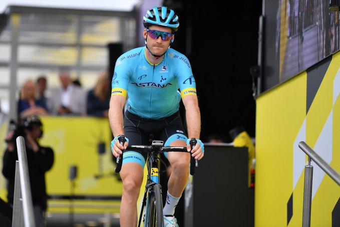 Route - Hugo Houle prolonge jusqu'en 2022 avec Astana