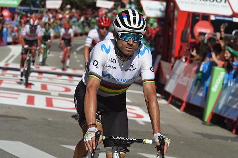 Tour d'Espagne - Valverde : «Il y a le terrain pour gagner...»