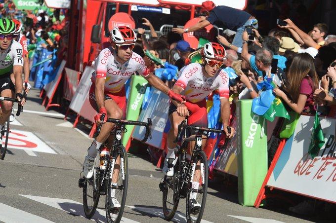 Tour d'Espagne - Edet piégé, 'énorme déception' pour Cofidis