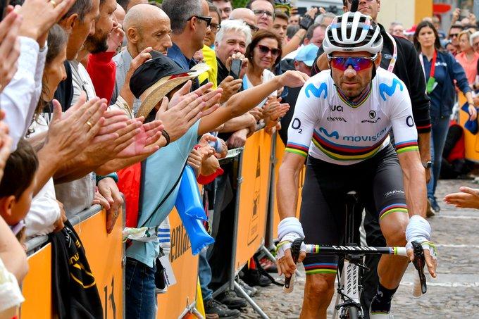 Tour d'Espagne - Valverde : 'Je ne rêvais pas du podium'