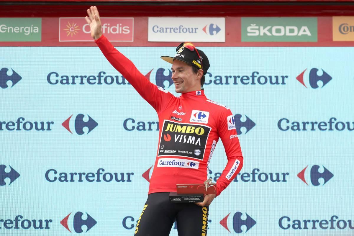 Tour d'Espagne - Primoz Roglic : 'Je souriais en secret'
