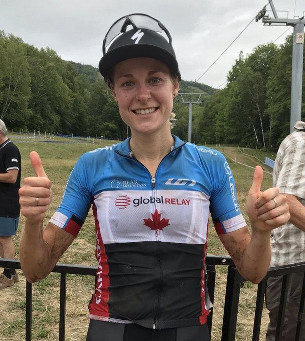 Cyclo-cross - CDM - Maghalie Rochette résiste à Katerina Nash