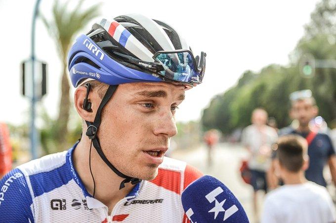 Tour d'Espagne - Marc Sarreau : «Déçu de mon sprint»