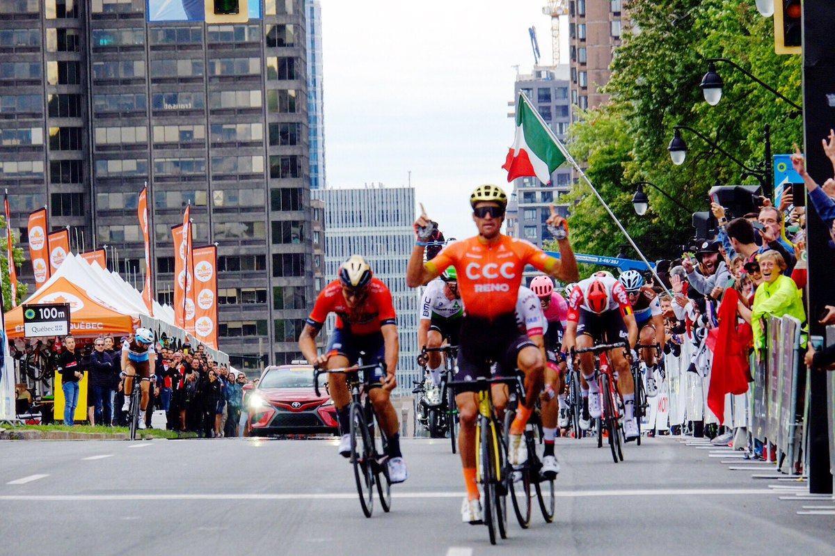 GP de Montréal  - Greg Van Avermaet s'impose devant Ulissi