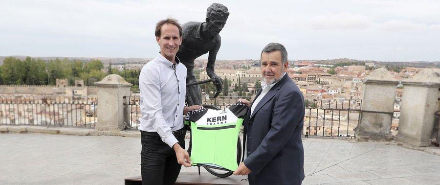 Route - Kern Pharma devient le sponsor de l'équipe Lizarte