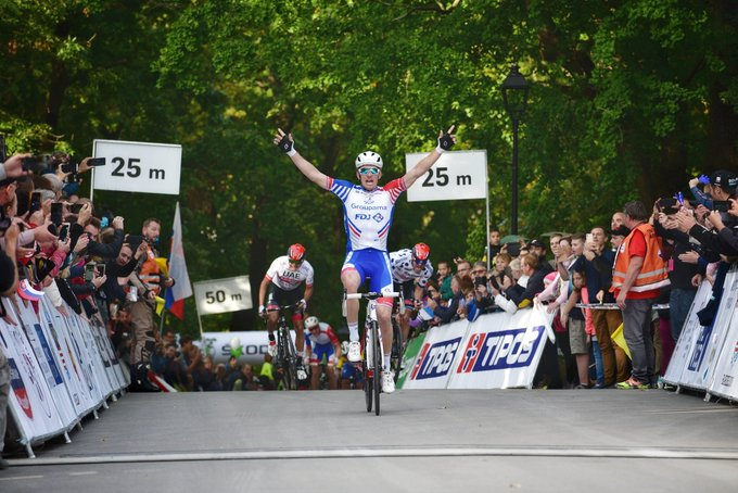 Tour de Slovaquie - Julien Pinot : 'Démare la méritait'