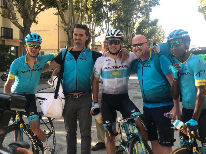 Memorial Pantani - Lutsenko au finish, Guillaume Martin 3e