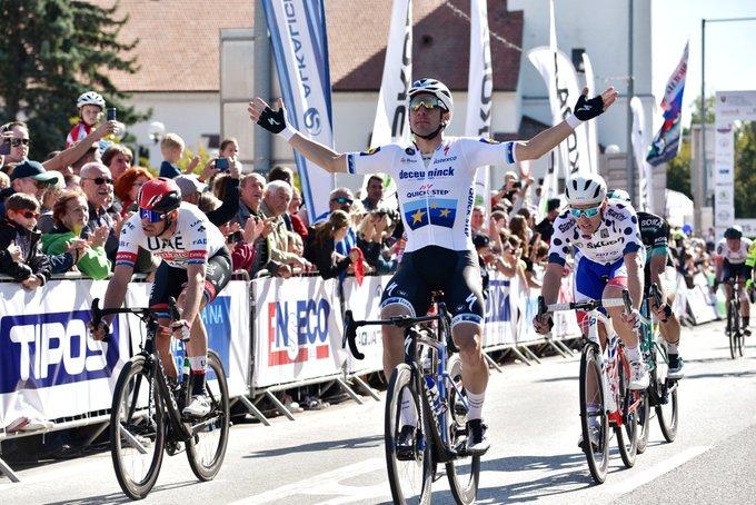 Tour de Slovaquie - Viviani : 'Je devais battre Démare'