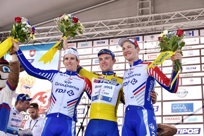 Tour de Slovaquie - Yves Lampaert : «C'était stressant»