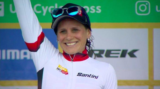 Cyclo-cross - Katerina Nash devant Jolanda Neff à Waterloo