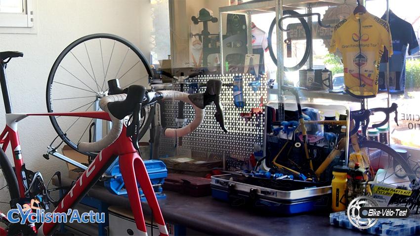 Matériel - L'atelier Bike Vélo Test, et son showroom Cyclism'Actu