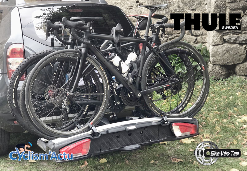 Bike Vélo Test - Cyclism'Actu a testé : le porte-vélos Thule XT3