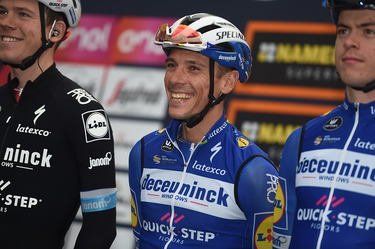 Tour de Lombardie - Deceuninck-Quick Step derrière Gilbert