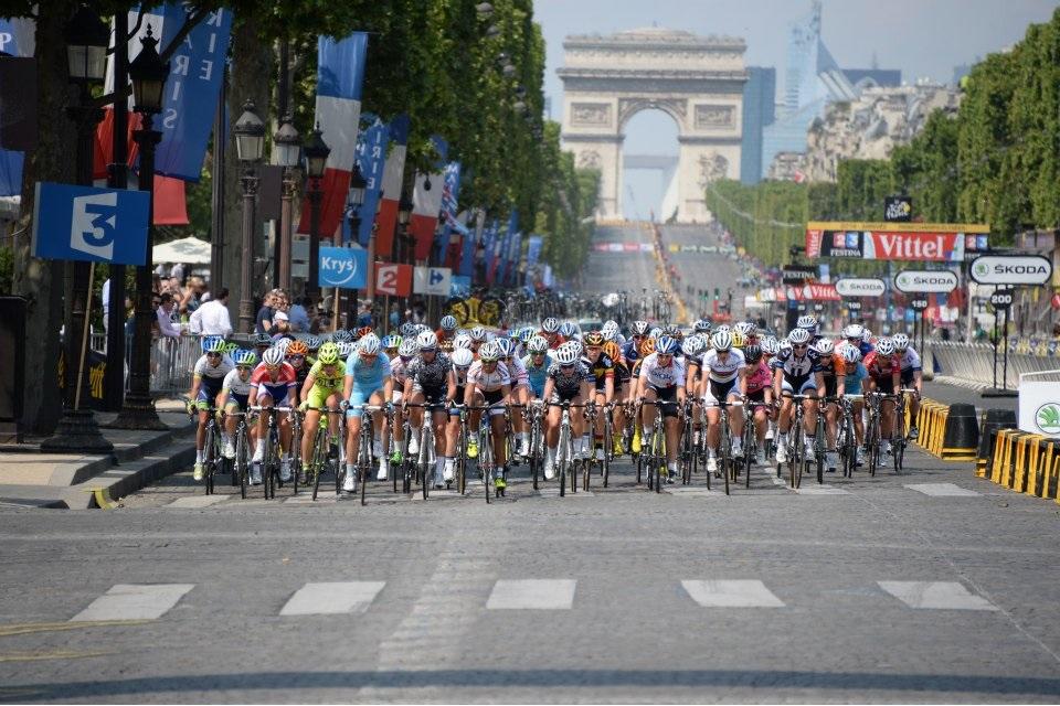 La Course by Le Tour - Son retour sur les Champs-Élysées !