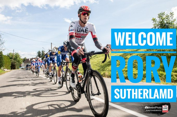 Transfert - Rory Sutherland chez Israel Cycling Academy