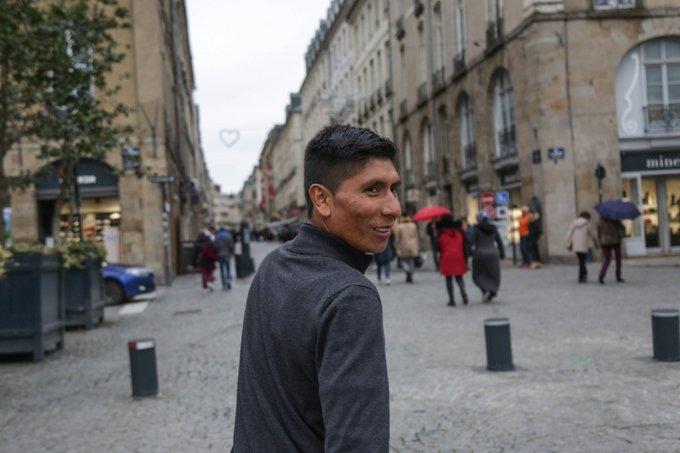 Route - Nairo Quintana : «Arkéa-Samsic a de l'ambition»