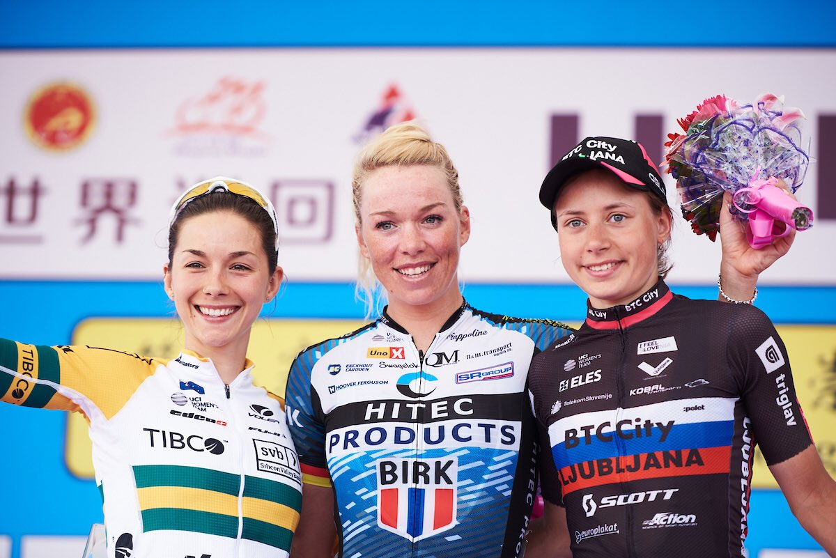 Transfert - Arkéa Pro Cycling Team signe Charlotte Becker