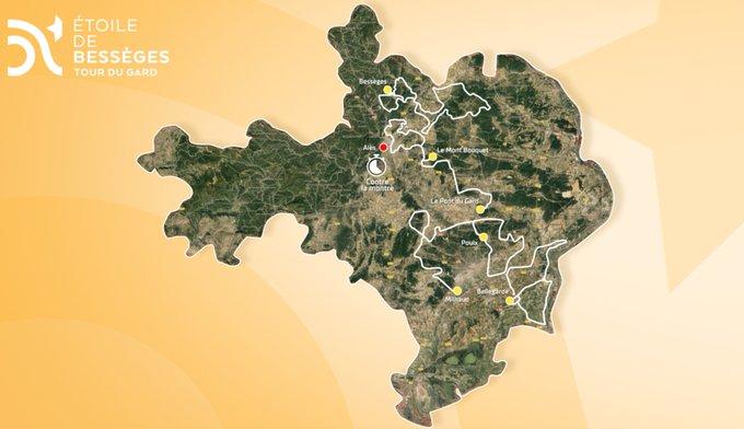 Étoile de Bessèges - 7 équipes WorldTour au départ en 2020
