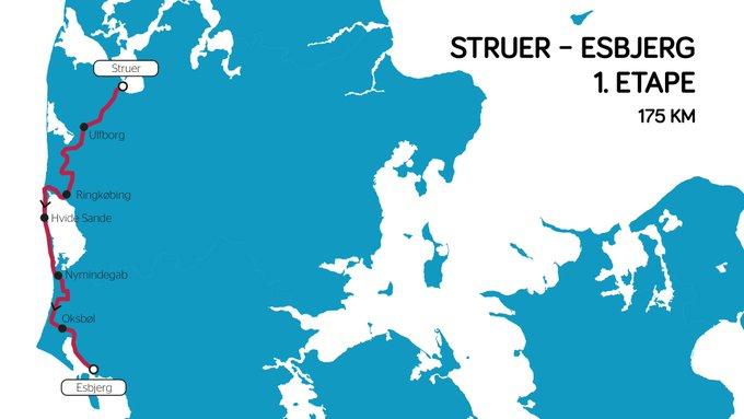 Tour du Danemark - Le parcours du 30e Tour du Danemark