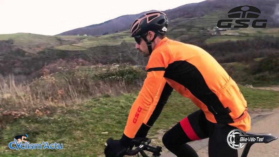 Bike Vélo Test - Cyclism'Actu a testé : la tenue de chez GSG