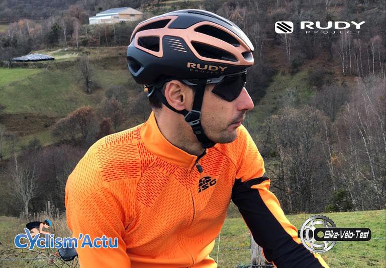 Bike Vélo Test - Cyclism'Actu a testé casque et lunettes Rudy Project