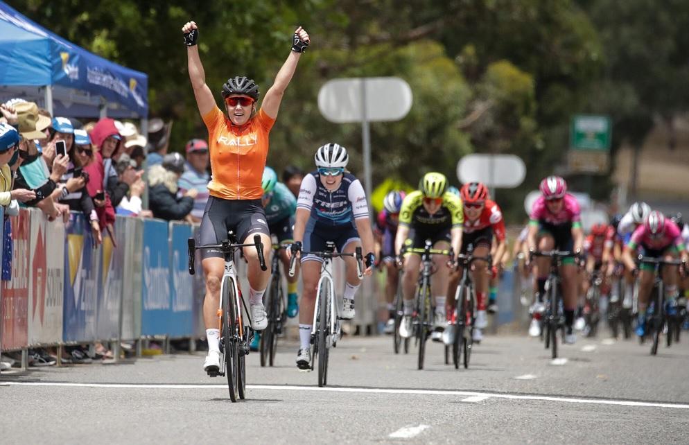 Tour Down Under (F) - La 1ère étape pour Chloe Hosking, Labous 9e