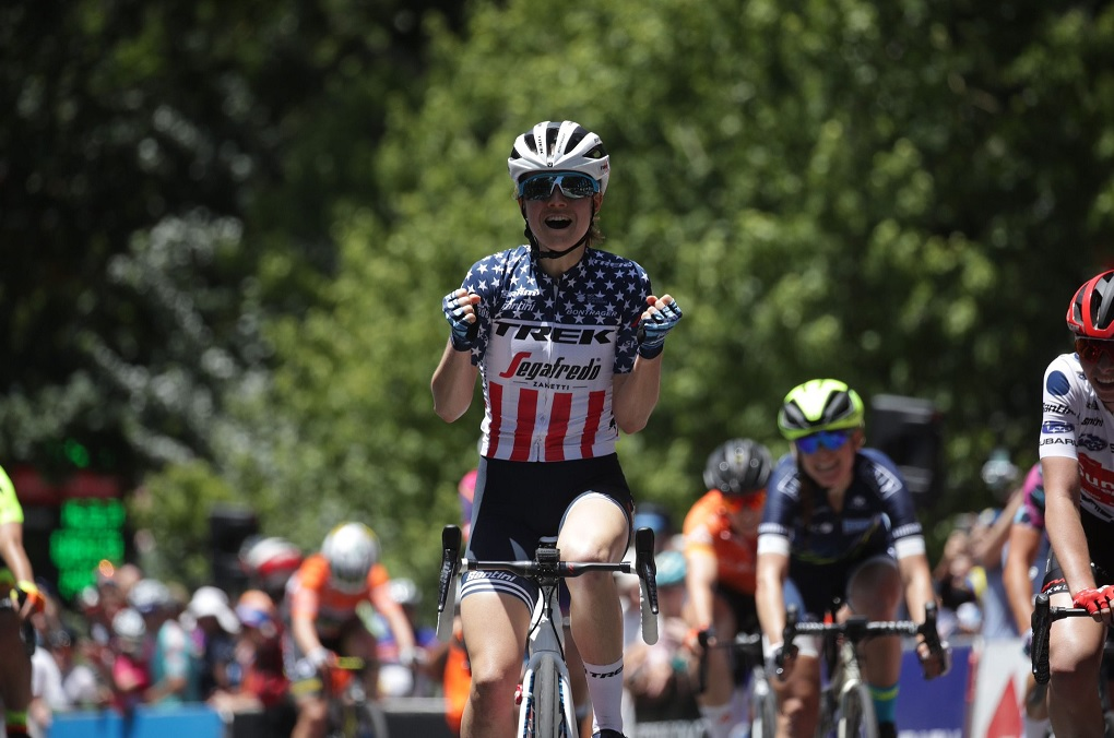 Tour Down Under (F) - Ruth Winder détrône Spratt lors de la 3e étape