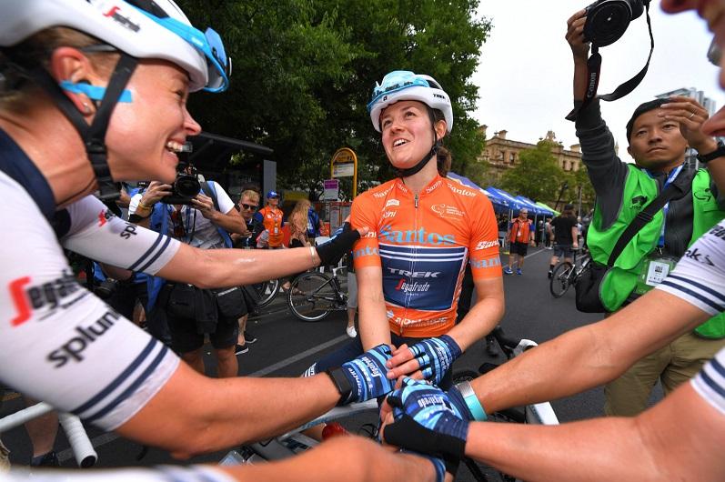 Tour Down Under (F) - Ruth Winder : 'Ce n'est pas un sport individuel'