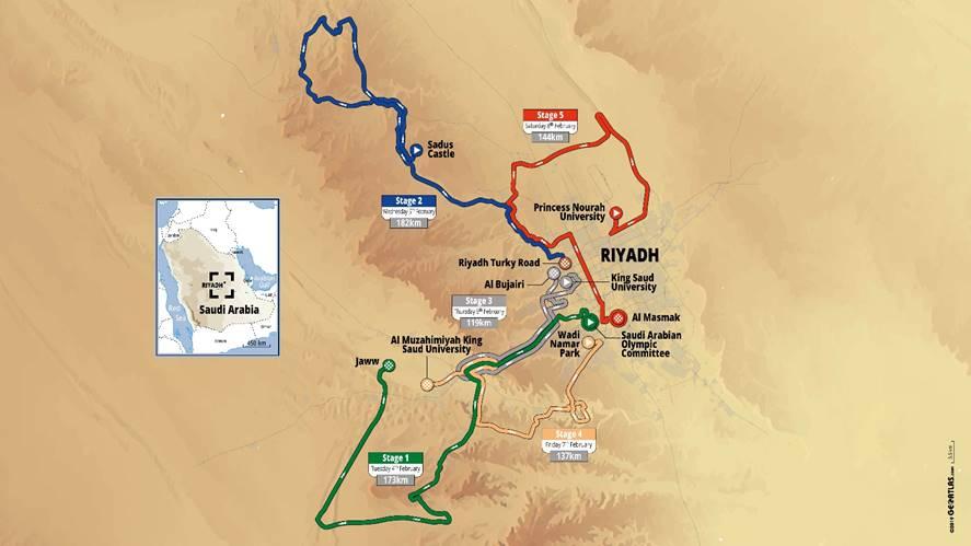 Saudi Tour - Bouhanni, Cavendish... : la startlist du 1er Saudi Tour