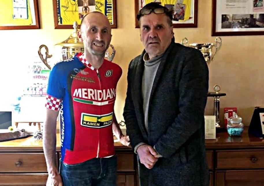 Route  - À 48 ans, Davide Rebellin prolonge avec Meridiana Kamen