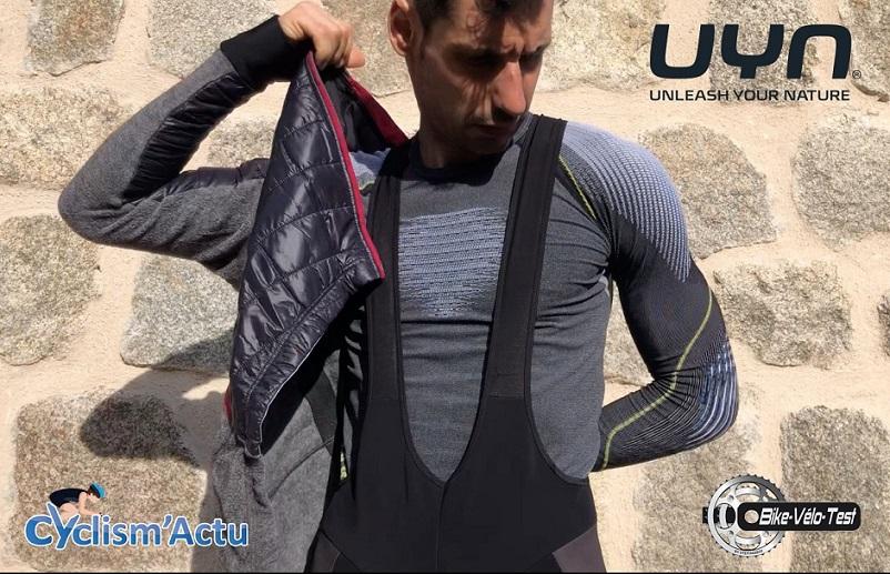 Bike Vélo Test - Cyclism'Actu a testé le sous-vêtement de UYN