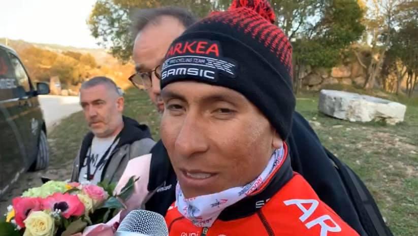 Tour du Haut-Var - Nairo Quintana : «On peut contrôler la course»