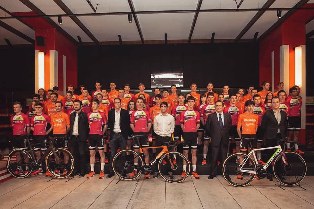 Route - Euskaltel fait son retour auprès de la Fundación Euskadi