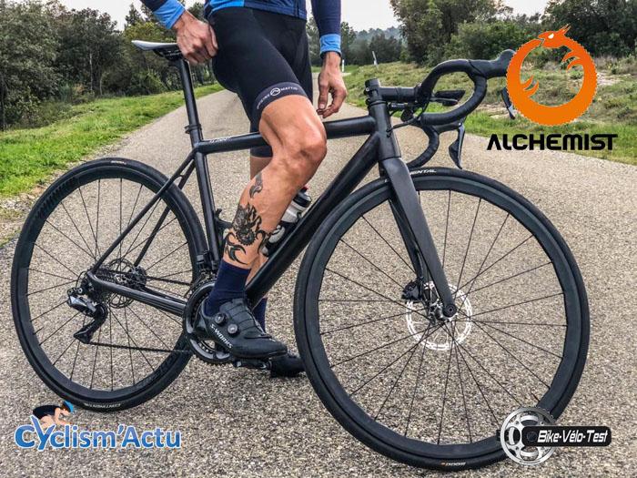 Bike Vélo Test - Cyclism'Actu a testé les roues signées Alchemist