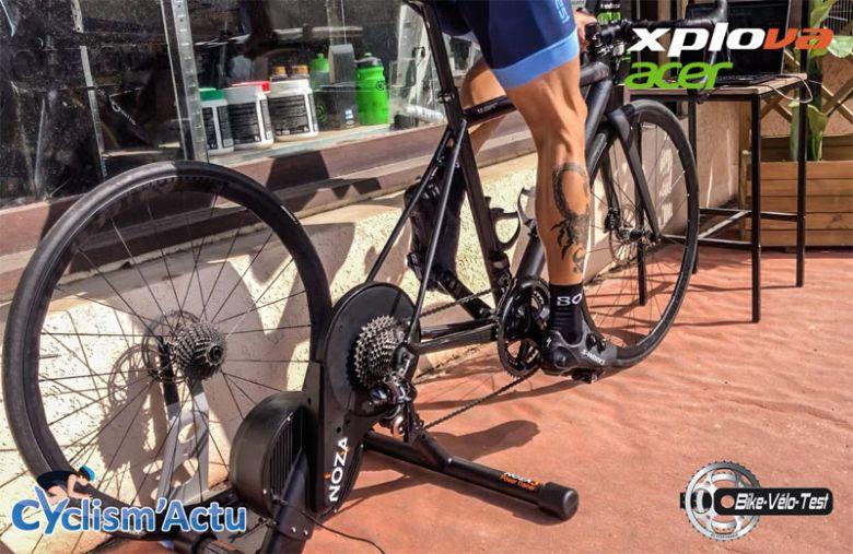 Bike Vélo Test - Cyclism'Actu a testé le home trainer Xplova