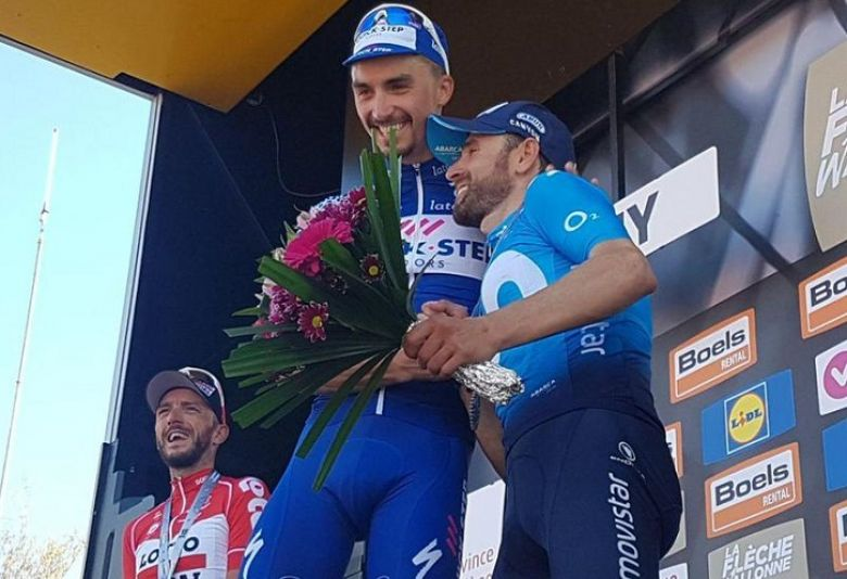 Flèche Wallonne - En 2018, Alaphilippe dominait l'invincible Valverde