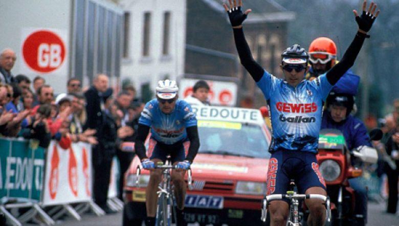 Rétro - Il y a 26 ans... le triplé de la Gewiss sur la Flèche Wallonne