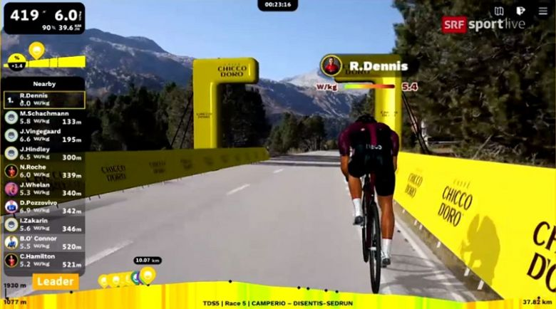 Digital Swiss 5 - Dennis : «Plus difficile que lors de la 1ère étape»