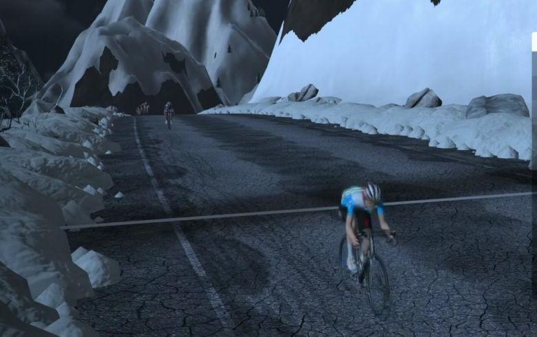 Zwift Tour for All (H) - Piccoli s'impose devant Molard et Madouas