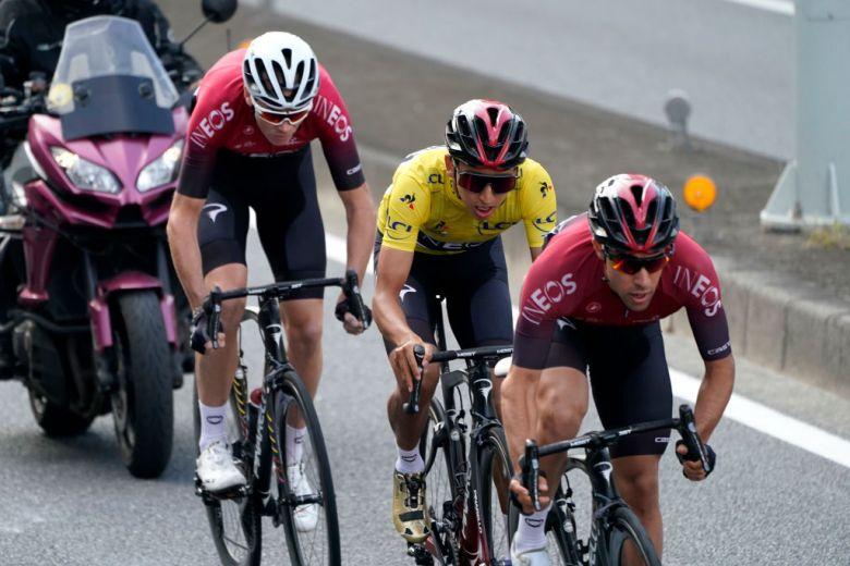 Tour de France - Bernal «ne se sacrifiera pas pour Froome et Thomas»