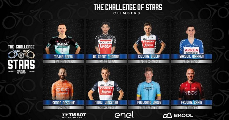 The Challenge of Stars - Froome, Barguil... ils s'affrontent à 16h30