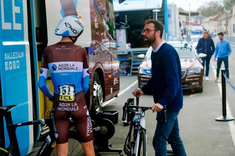 ITW - Quiclet et AG2R La Mondiale : «Mai, c'est une remise en route»