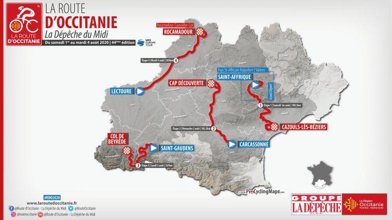Route d'Occitanie - Les villes étapes de la Route d'Occitanie