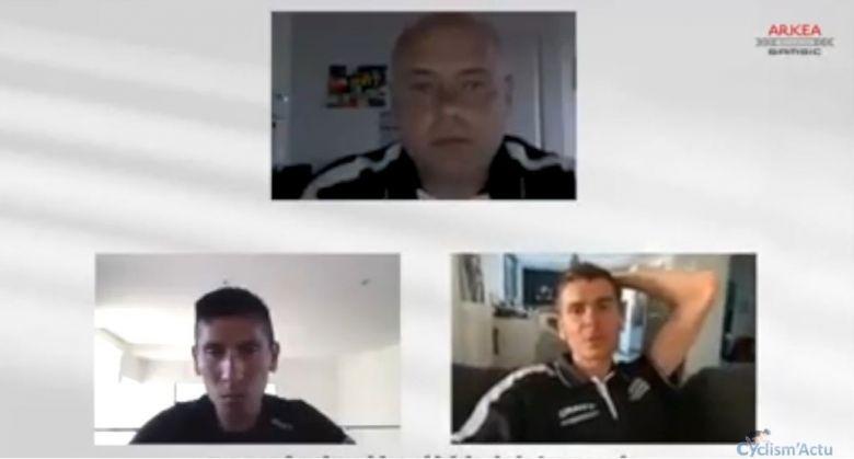 Route - Hubert, Barguil & Quintana : «L'avenir va être très difficile»