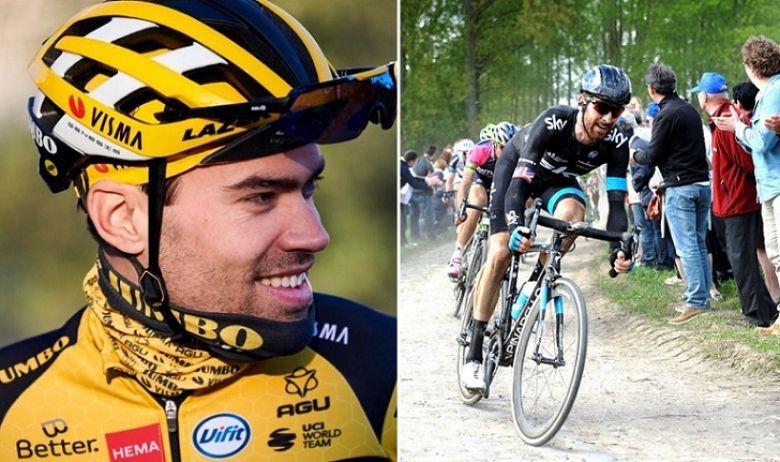 Paris-Roubaix - Tom Dumoulin «aimerait faire comme Bradley Wiggins»