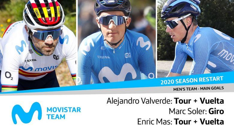 Route - Tour et Vuelta pour Valverde et Mas, Marc Soler fera le Giro