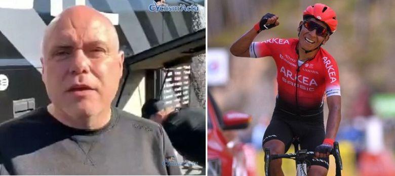 Route - Hubert : «Quintana peut grimper aussi bien que n'importe qui»
