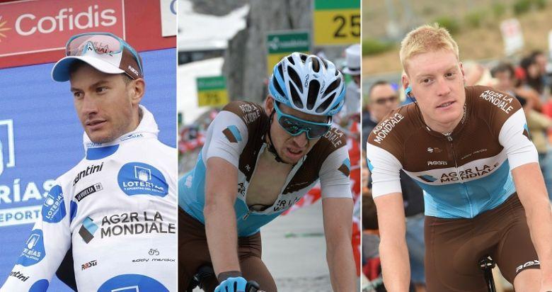 Route - AG2R La Mondiale prolonge Bouchard, Paret-Peintre et Godon