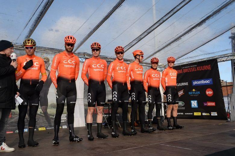 Route - Jim Ochowicz (CCC Team) est en contact avec six sponsors